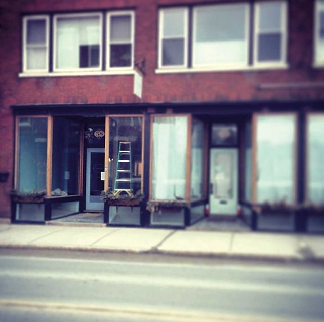 Cursive Coffee's new location in Middlebury