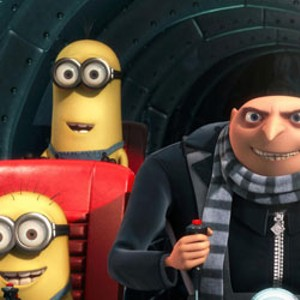 CUTE OVERLOAD Sparkly vampires are powerless at the box office against Carell's secret weapon: adorable minions.