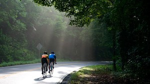 Cyclists Recommend Routes on the Other Side of Lake Champlain