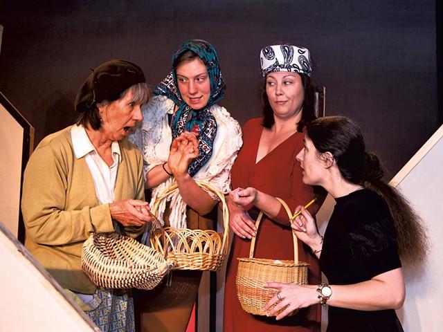 Cynthia Taylor, Hazel Wood, Barbara Swantak and Christine Williamson - COURTESY OF JOE MEHLING