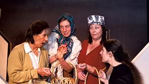 Cynthia Taylor, Hazel Wood, Barbara Swantak and Christine Williamson