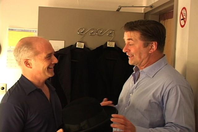 Dan Butler and Alec Baldwin, in Karl Rove, I Love You