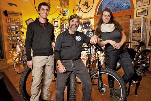 Dan Hock, Glenn Eames and Christine Hill - MATTHEW THORSEN