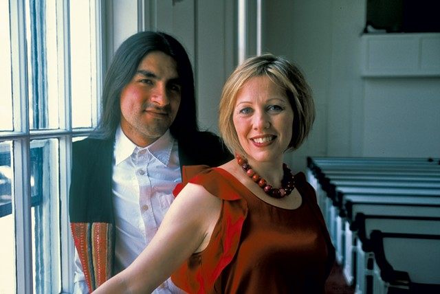 Daniel Gaviria and Sarah Cullins