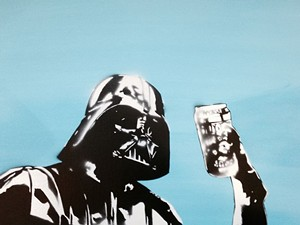 """COURTESY OF THE ARTIST - """"Darth Topper"""" by DJ Barry"""