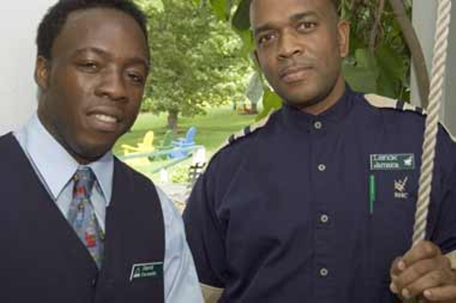 David & Lenox Williams of Jamaica