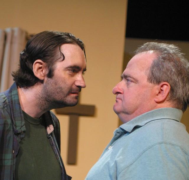David Dilego, left, and Adam Cunningham