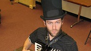 Composer-Accordionist David Symons Scores With Oliver Twist
