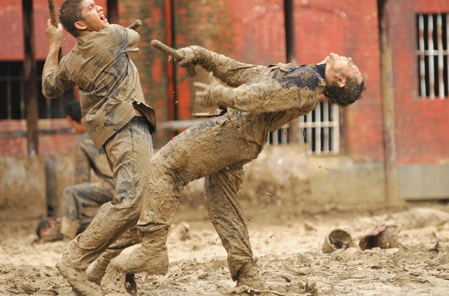 Dirty Work: Mud, blood, fists and feet fly in Evans' sequel to the Indonesian action hit.