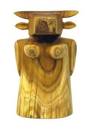 "COURTESY OF THE CARVING STUDIO AND SCULPTURE CENTER - ""Diva"" by Donna Dodson"