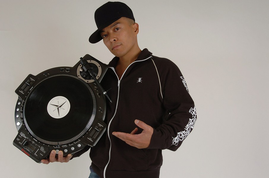 Dj QBert - COURTESY OF DJ  QBERT