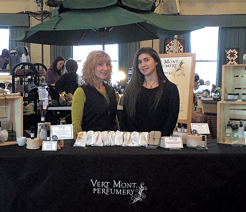Donna and Tess Cristen of Ver Mont Perfumery - COURTESY OF VER MONT PERFUMERY