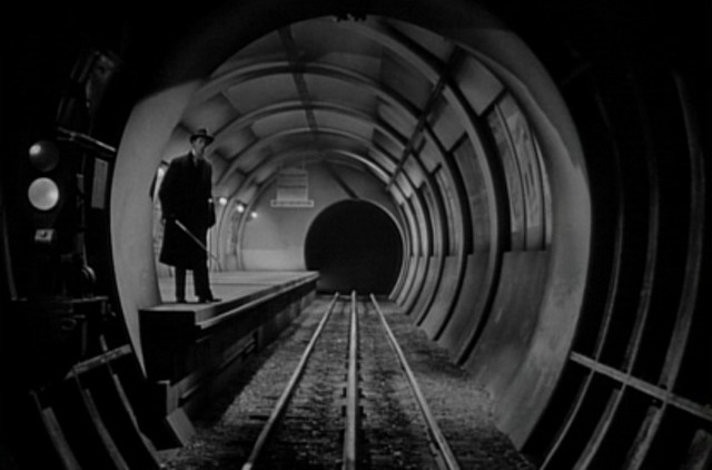 Don't go down that subway tunnel, esteemed actor John Carradine! - 20TH CENTURY FOX PICTURES