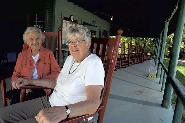 Dorothy Naylor & Carolyn Coleburn