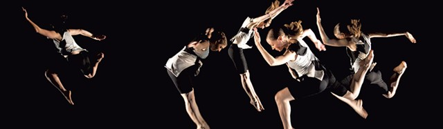 DOUBLE VISION (Pauline Jennings/Sean Clute) dancers by Rick Mellor
