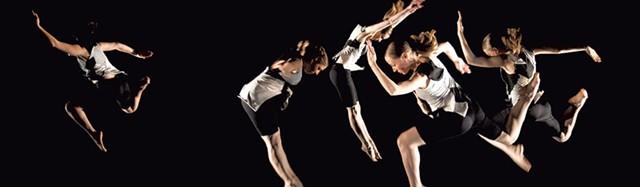 DOUBLE VISION (Pauline Jennings/Sean Clute) dancers by Rick Mellor