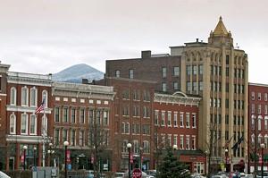 downtown Rutland