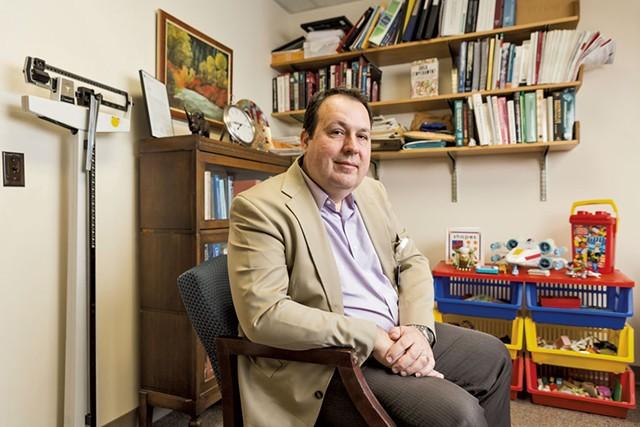 Dr. David Rettew - OLIVER PARINI