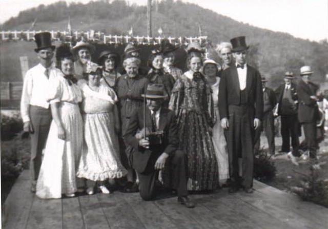 Ed Larkin Contra Dancers Circa 1940