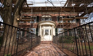 ANDY DUBACK - Englesby House under renovation