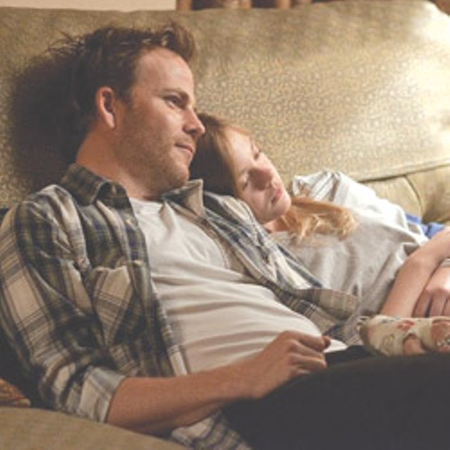 ENNUI R US Dorff shares a tender (or just tired) ?moment with his daughter in ?Coppola's latest.?