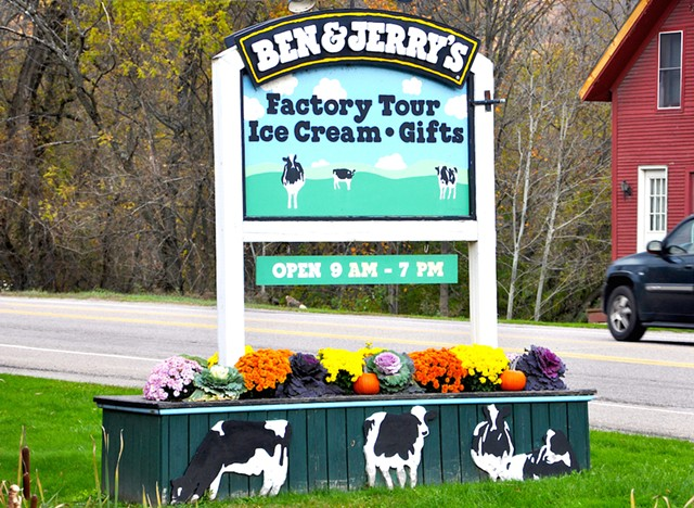 Entrance To Ben & Jerry's Factory - DREAMSTIME/JIAWANGKUN