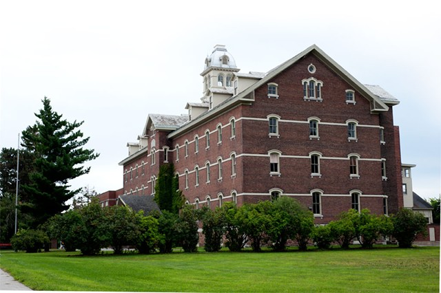 The former orphanage at Burlington College - NATALIE WILLIAMS