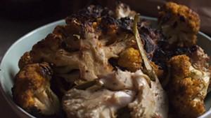 Farmers Market Kitchen: Fire-Roasted Cauliflower en Dijon