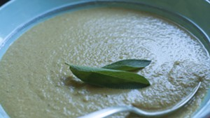 Farmers Market Kitchen: Nutty Carrot Zucchini Water Soup