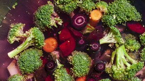 Farmers Market Kitchen: Roasted Broccoli With Root Vegetables