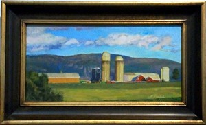 "COURTESY OF ART ON MAIN - ""Farming"" by Lillian Kennedy"