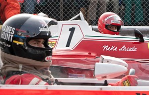 FAST FEUD Hemsworth and Brühl play rival speed racers who feel the need for glory in the latest from Ron Howard.