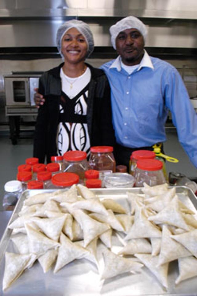 Fatu Kankolongo and Fuad Ndibalema