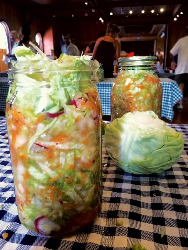 Fermented veggies - COURTESY OF SANDOR KATZ