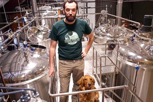 Fiddlehead Brewing's Matt Cohen in 2011 - FILE PHOTO: MATTHEW THORSEN