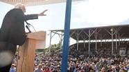 'Run, Bernie, Run':  In Iowa, Sanders Tests the Presidential Waters