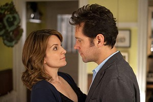 FLAWED COUPLE Fey approaches love with her eyes open in Weitz's sort-of-romantic comedy.