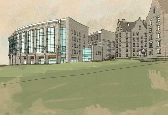 Fletcher Allen Health Care Inpatient Building, plans