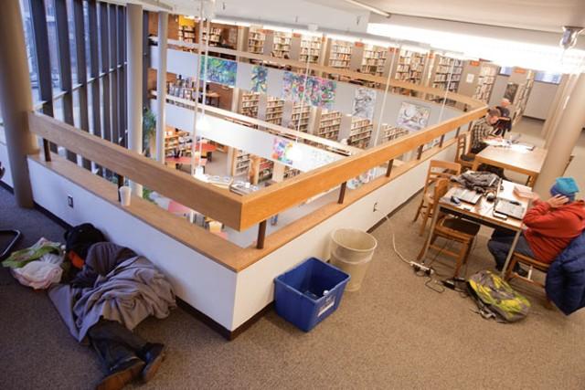 Fletcher Free Library - MATTHEW THORSEN
