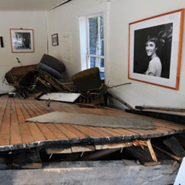 flood damage at Birke Photography - JEB WALLACE-BRODEUR