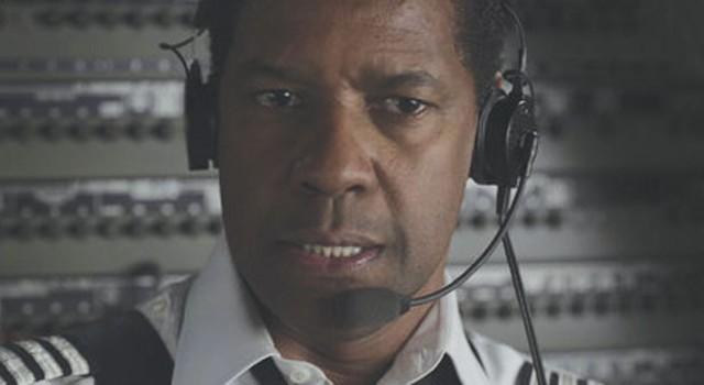 FLYING HIGH Washington plays a pilot  who hits bottom — hard — in Zemeckis' often overwrought  addiction drama.