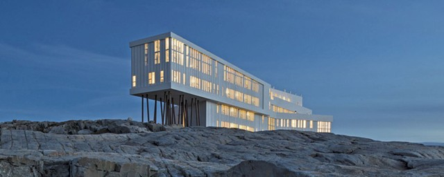 Fogo Island Inn by Todd Saunders - COURTESY OF BCA