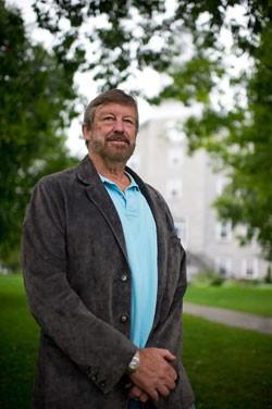 Former economics professor Michael Claudon - ANDY DUBACK