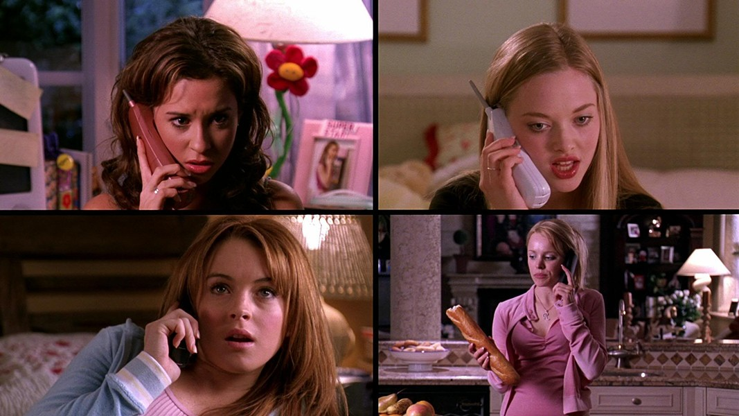 Four Mean Girls - PARAMOUNT PICTURES