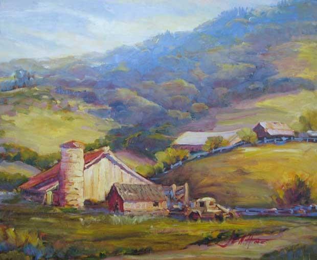 """""""Freestone"""" by Joan Hoffman"""