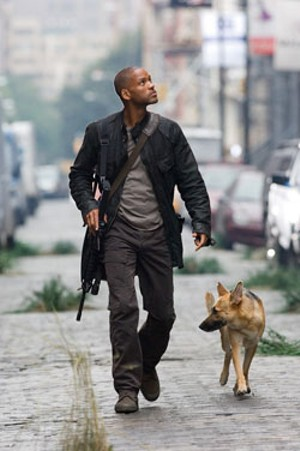 FRESH PRINCE OF THE END TIMES: In his new thriller, Will Smith learns that flesh-eating mutants just don't understand.