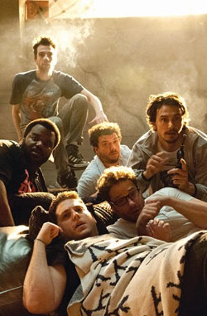 FRIEND TIMES A collection of Hollywood A-listers are bummed when their plans for a night of partying are crimped by the apocalypse.