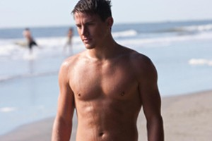 FROM HERE TO INANITY Tatum is all set to challenge Taylor Lautner for the title of Best Abs in a Bad Movie.