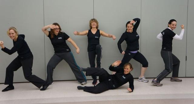 From left: Nancy Keller, Darcy Richardson-Miller, Christine DiBlasio, Hillary Boucher, Karen Chevalier and Christina Allard