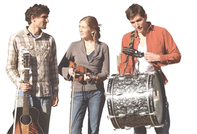 (From left to right) Michael Roberts, Katie Trautz and Frank Roberts